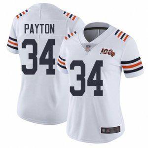 Women Bears Walter Payton 100th Season Jersey (5)